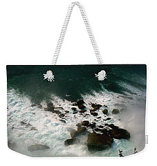 Weekender Tote Bag featuring the photograph Coming Out by Harsh Malik