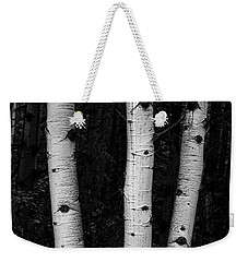 Weekender Tote Bag featuring the photograph Coming Out Of Darkness by James BO Insogna