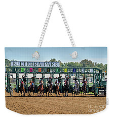 Coming Out Of The Gate Weekender Tote Bag