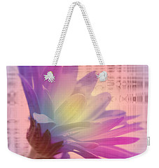 Coming To Life Love Notes Mirror Weekender Tote Bag by Cathy  Beharriell