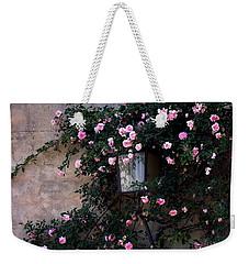 Coming Up Roses Weekender Tote Bag by Jacqueline M Lewis