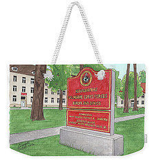 Commander Major General Russell A. Sanborn - Marforeuraf Weekender Tote Bag