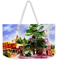 Commercial Street, Old Town Auburn Weekender Tote Bag