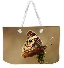 Common Buckeye Weekender Tote Bag by Richard Stephen