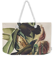 Common Crow Weekender Tote Bag by John James Audubon