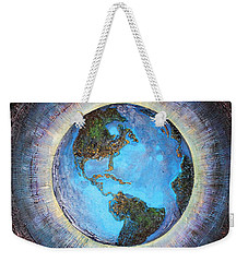 Common Ground Weekender Tote Bag by Farzali Babekhan