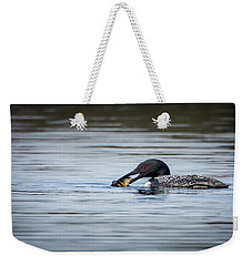 Common Loon Weekender Tote Bag by Bill Wakeley