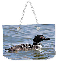 Common Loon Port Jefferson New York Weekender Tote Bag