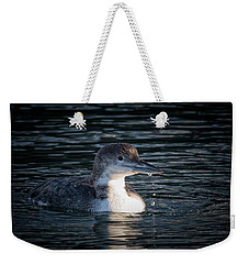 Weekender Tote Bag featuring the photograph Common Loon by Randy Hall