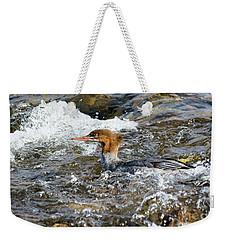 Common Merganser Weekender Tote Bag