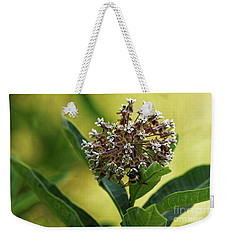 Weekender Tote Bag featuring the photograph Common Milkweed by Paul Mashburn