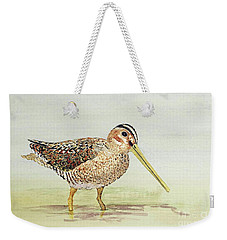 Common Snipe Wading Weekender Tote Bag