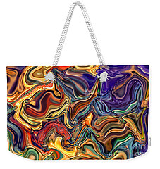 Commotion In The Motion Xvi Weekender Tote Bag