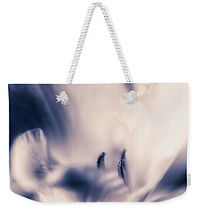 Weekender Tote Bag featuring the photograph Communion by Connie Handscomb