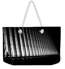 Weekender Tote Bag featuring the photograph Commuter Like You And I by Johnny Lam