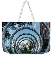 Commuter's Circle Weekender Tote Bag