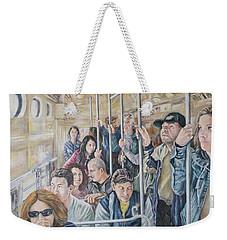 Commuters Weekender Tote Bag