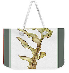 Compass Plant, Fall Weekender Tote Bag by Catherine Twomey