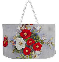 Compass Rose Weekender Tote Bag