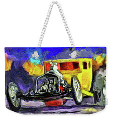 Competition Coupe Van Gogh Weekender Tote Bag