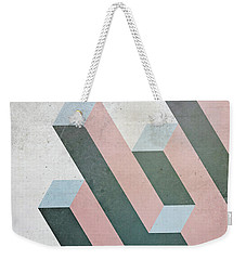 Complex Geometry Weekender Tote Bag