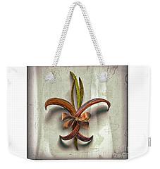 Composite Fleur-de-lis Of Oleander Weekender Tote Bag
