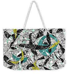 Composition #18 Weekender Tote Bag