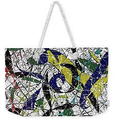 Composition #19 Weekender Tote Bag