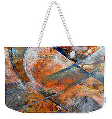 Composition Hieroglyphe Weekender Tote Bag