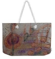 Composition In B Flat Weekender Tote Bag