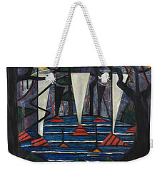 Composition No. 23 Weekender Tote Bag by Jacoba van Heemskerck