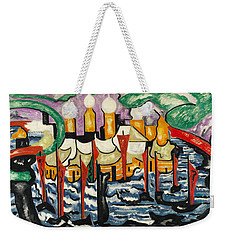 Composition No.62 Weekender Tote Bag by Jacoba van Heemskerck