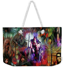 Conan The Barbarian Collage - Square Version Weekender Tote Bag