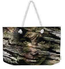 Concealed Emotions Weekender Tote Bag by Tlynn Brentnall