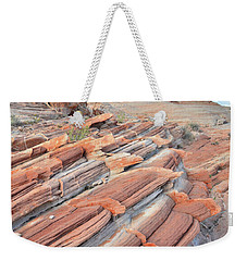 Concentric Circles Of Sandstone At Valley Of Fire Weekender Tote Bag