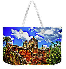 Concepcion Towers And Ruined Wall Weekender Tote Bag