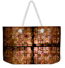 Conceptual Construct Weekender Tote Bag