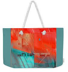 Weekender Tote Bag featuring the digital art Concert 2 by Iris Gelbart