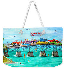 Conch Day Weekender Tote Bag