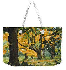 Concord Fall Trees Weekender Tote Bag