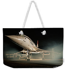 Concorde In The Mist Weekender Tote Bag
