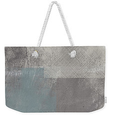 Concrete 3- Contemporary Abstract Art By Linda Woods Weekender Tote Bag