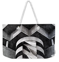 Concrete Geometry Weekender Tote Bag