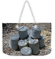 Concrete Rolls Weekender Tote Bag
