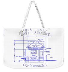 Condo Card Weekender Tote Bag