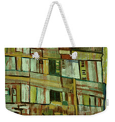 Weekender Tote Bag featuring the painting Condo by Paul McKey