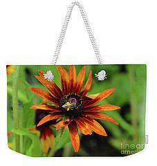 Cone Flower Weekender Tote Bag