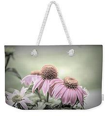 Cone Flowers Dream Weekender Tote Bag