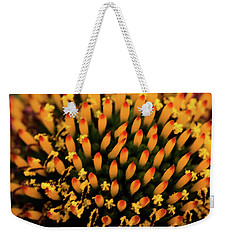 Weekender Tote Bag featuring the photograph Coneflower by Jay Stockhaus