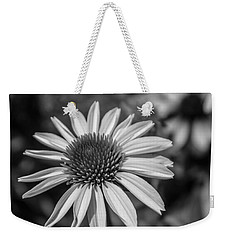 Conehead Daisy In Black And White Weekender Tote Bag by Arlene Carmel
